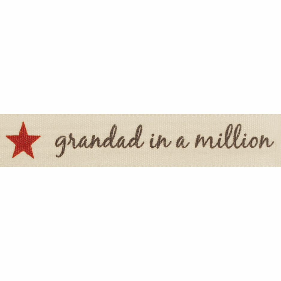 Picture of Grandad in a Million: 4m x 15mm: Natural