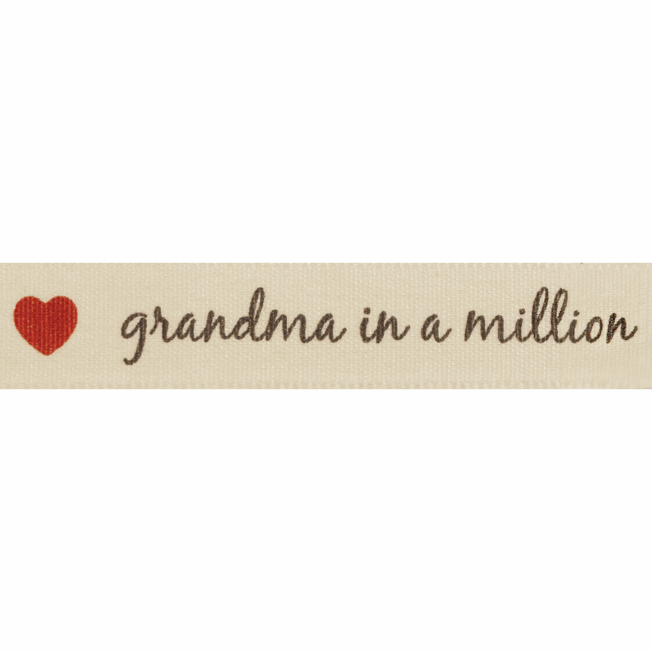 Picture of Grandma in a Million: 4m x 15mm: Natural