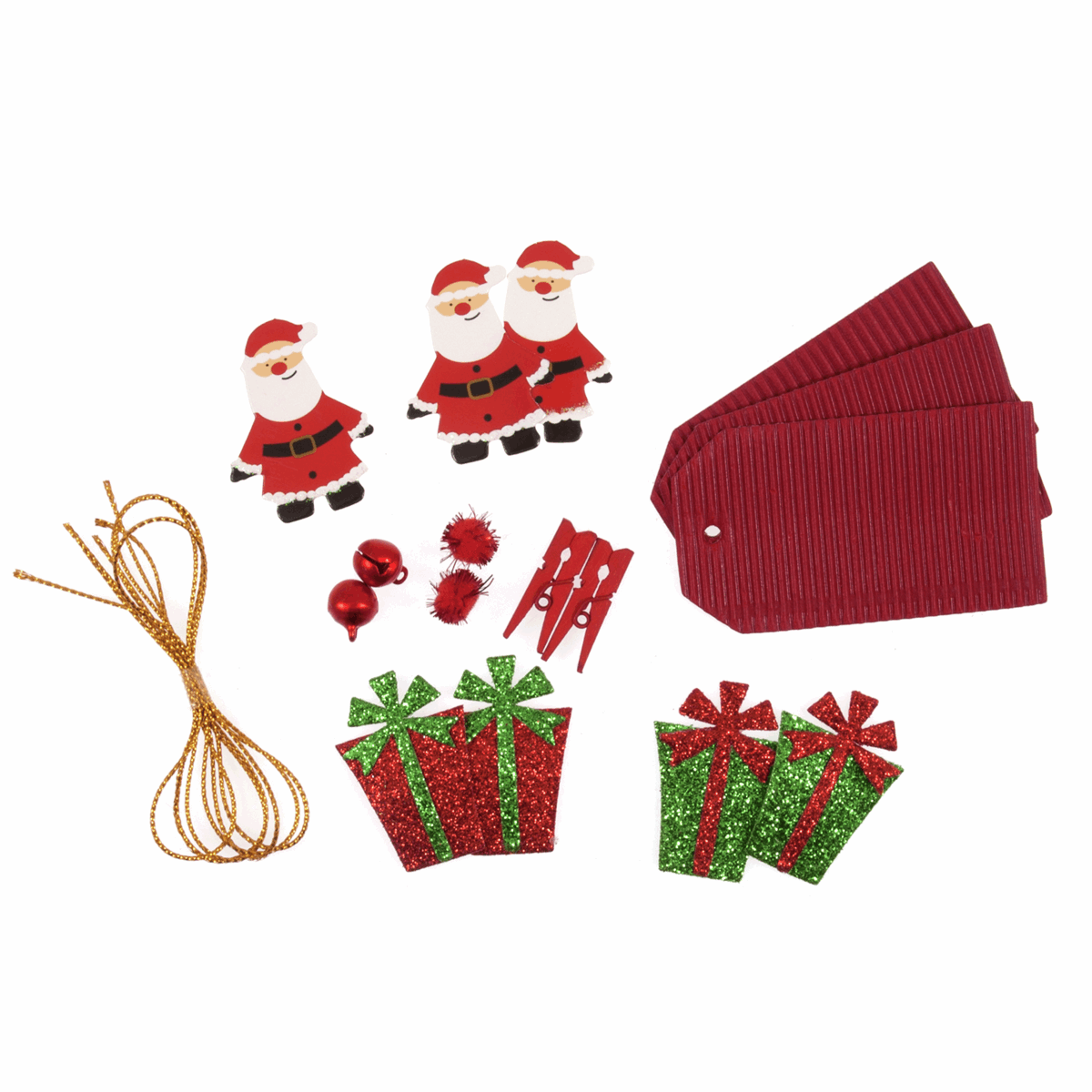 Picture of DIY Christmas Kit: Red: Pack 3 Sets