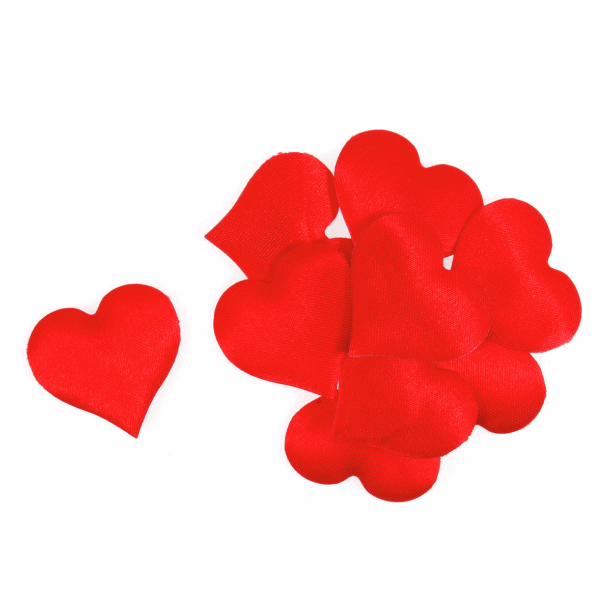 Picture of Hearts: Padded: Red: Pack of 24