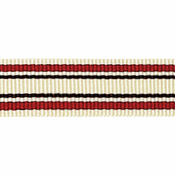 Picture of Deckchair Stripe: 4m x 10mm: Red