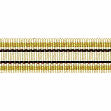 Picture of Deckchair Stripe: 4m x 10mm: Gold