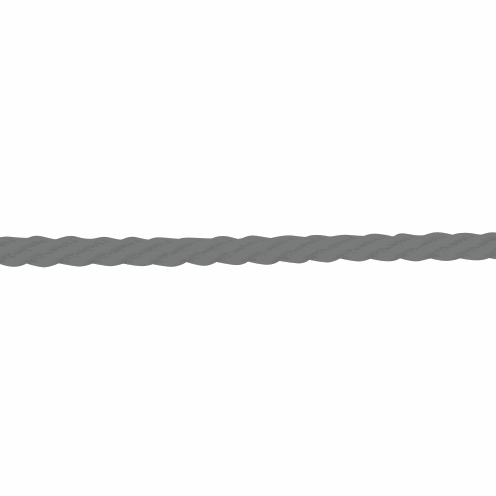 Picture of Twisted Twine: 4m x 5mm: Light Grey