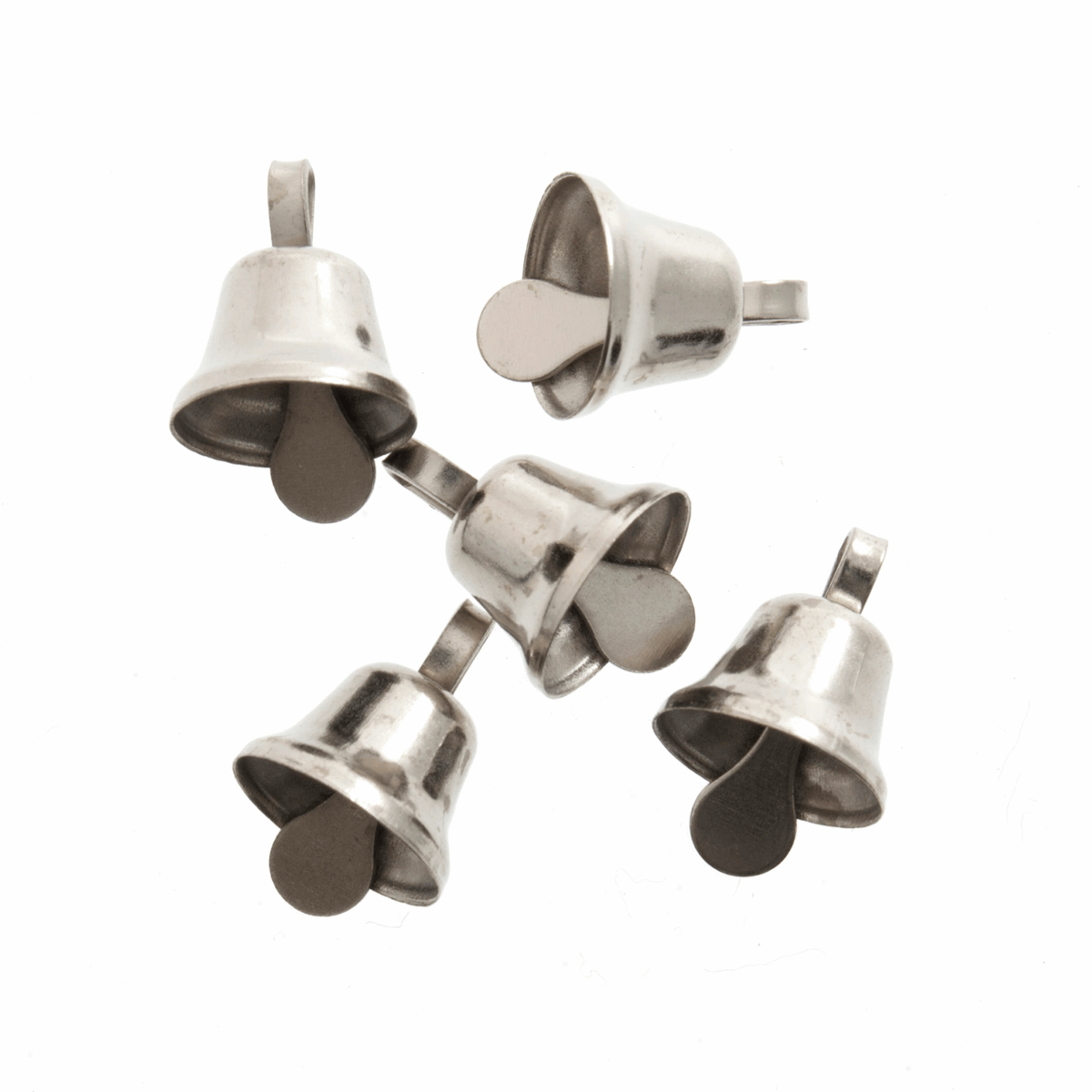Picture of Bells: Liberty: 10mm: Silver: 6 Pack