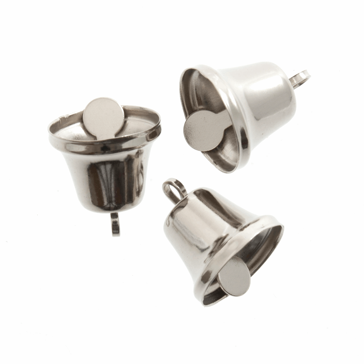Picture of Bells: Liberty: 14mm: Silver: 5 Pack