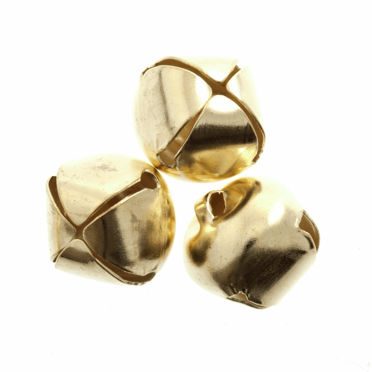 Picture of Bells: Jingle: 6mm: Gold: 10 Pack