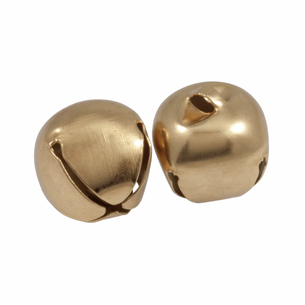 Picture of Bells: Jingle: 30mm: Gold: 2 Pieces