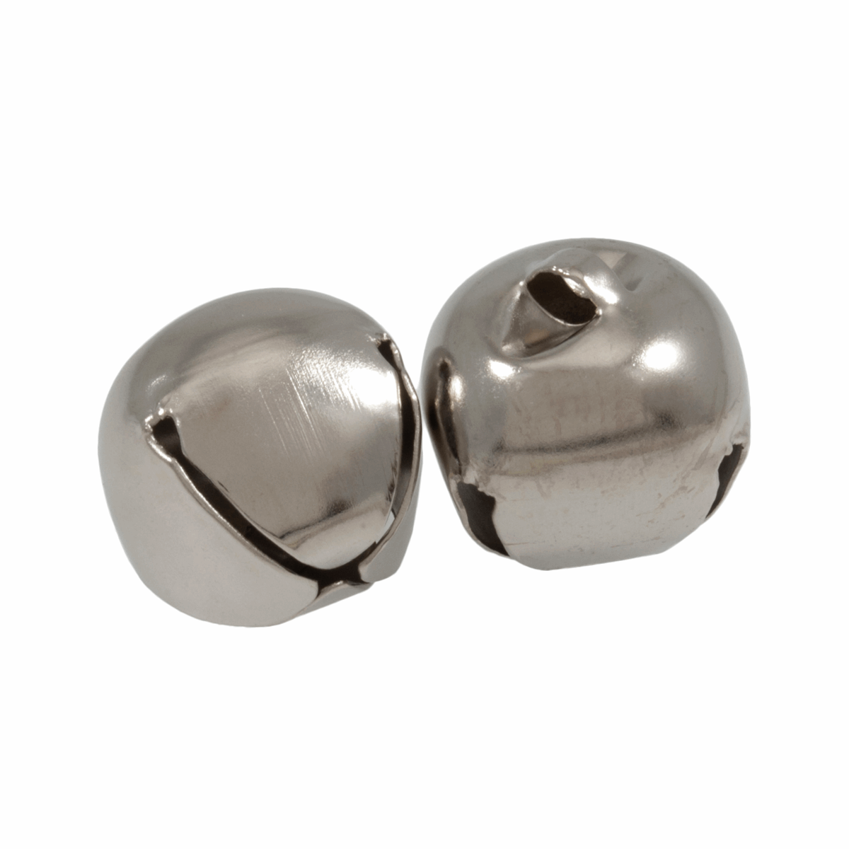 Picture of Bells: Jingle: 30mm: Silver: 2 Pieces