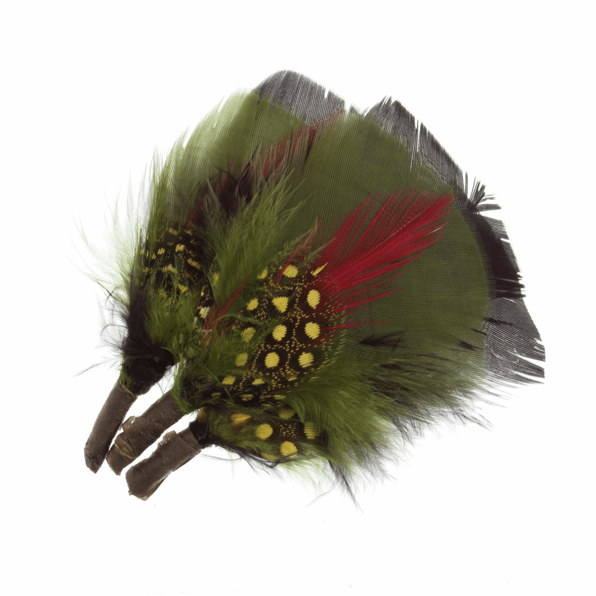 Picture of Feathers: Assorted Bright Plumes: 3 per Pack
