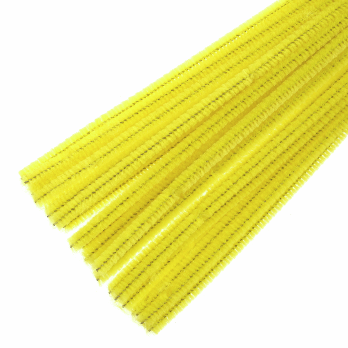 Picture of Chenilles: 30cm x 6mm: Yellow: 30 Pieces