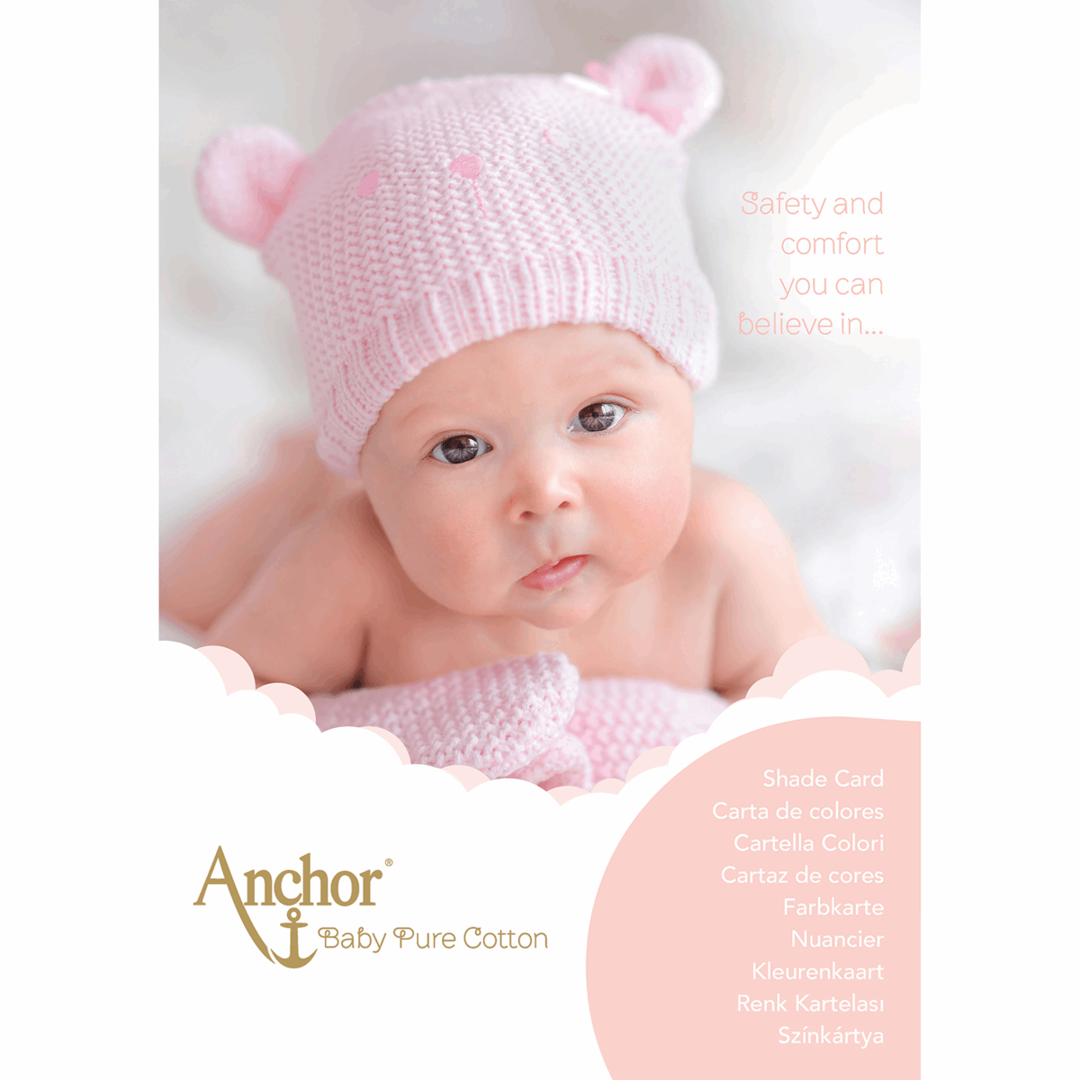 Picture of Anchor Pure Baby Cotton: Shade Card