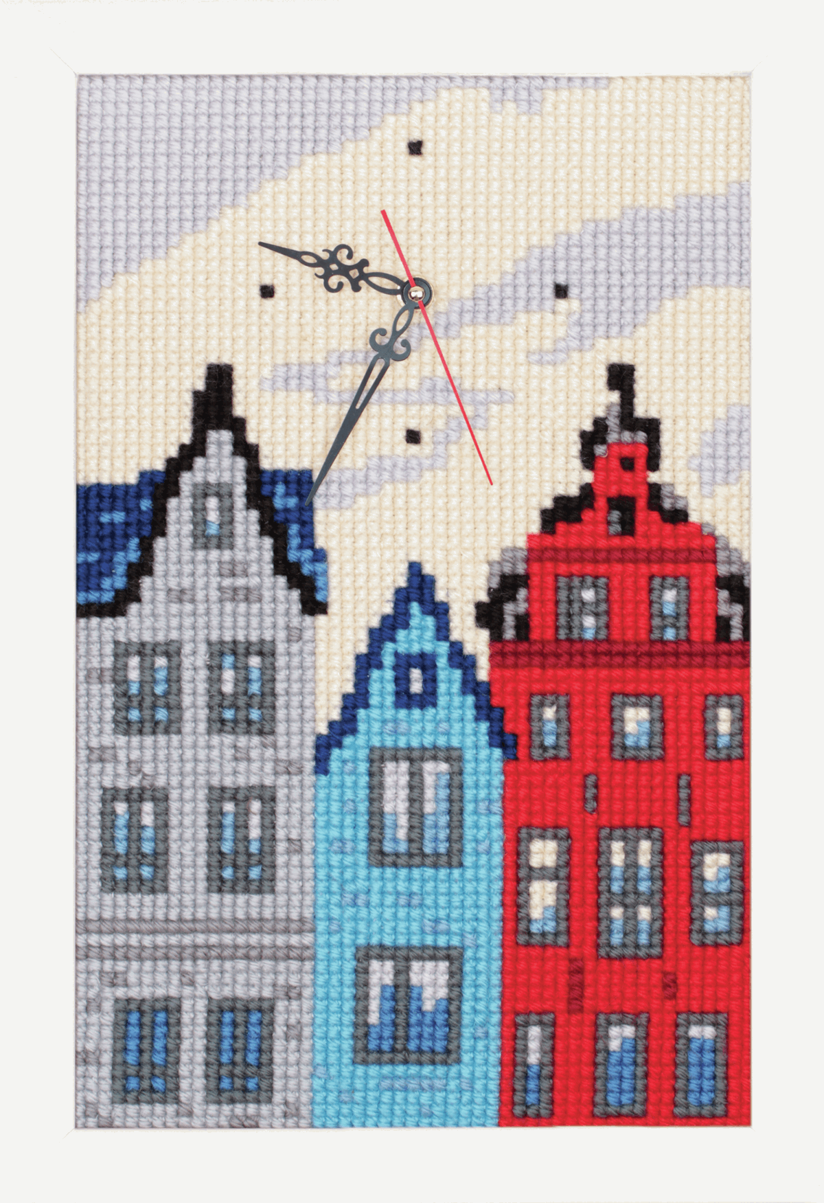 Picture of Cross Stitch Kit: Clockwork: Town