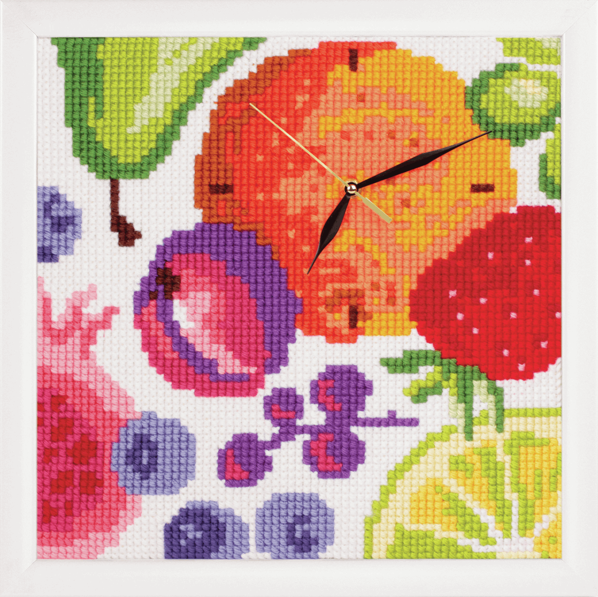 Picture of Cross Stitch Kit: Clockwork: Rich Fruits