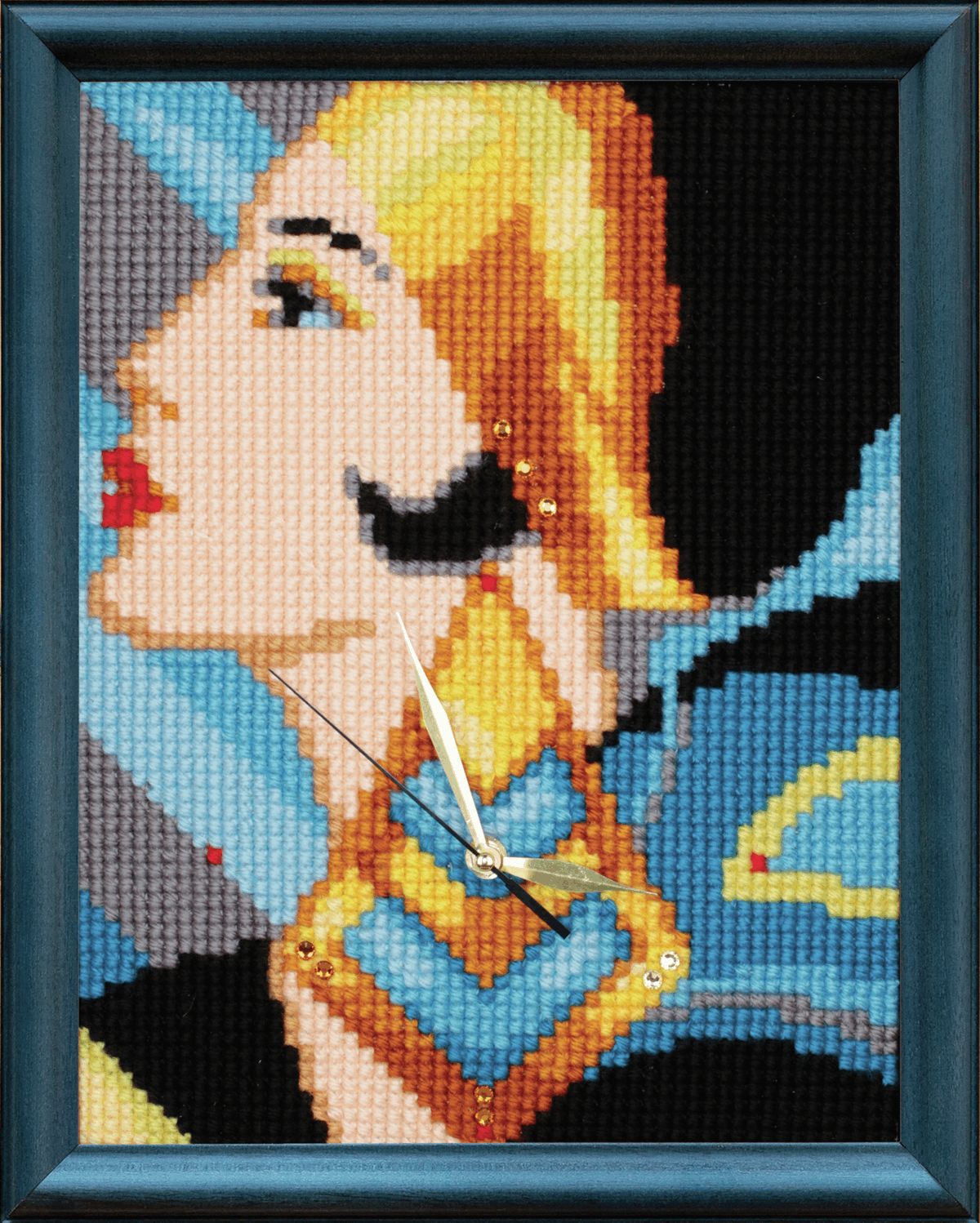 Picture of Cross Stitch Kit: Clockwork: Lady with Earring