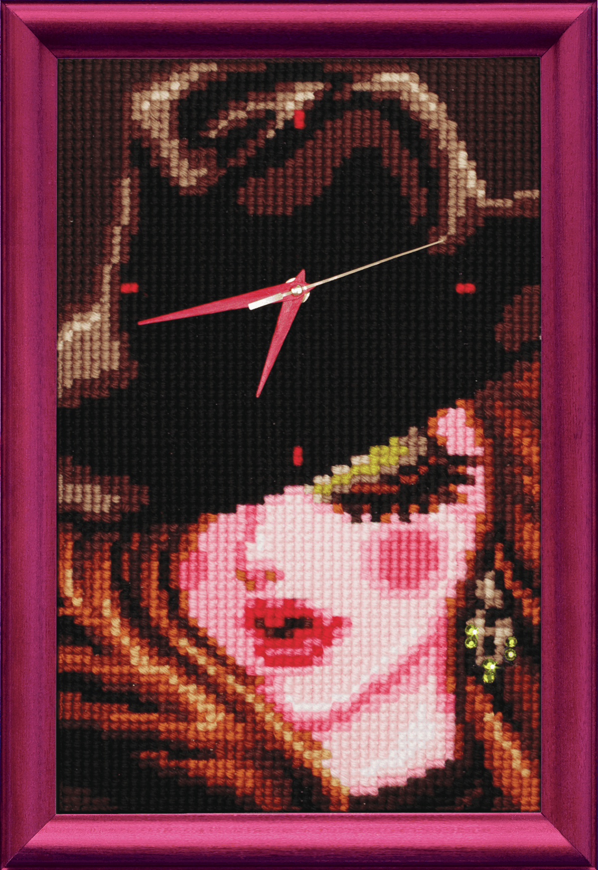 Picture of Cross Stitch Kit: Clockwork: Girl in a Black Hat