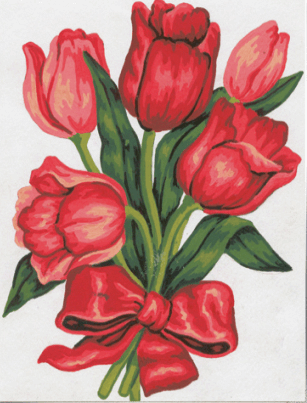 Picture of Tapestry Kit: Tulips