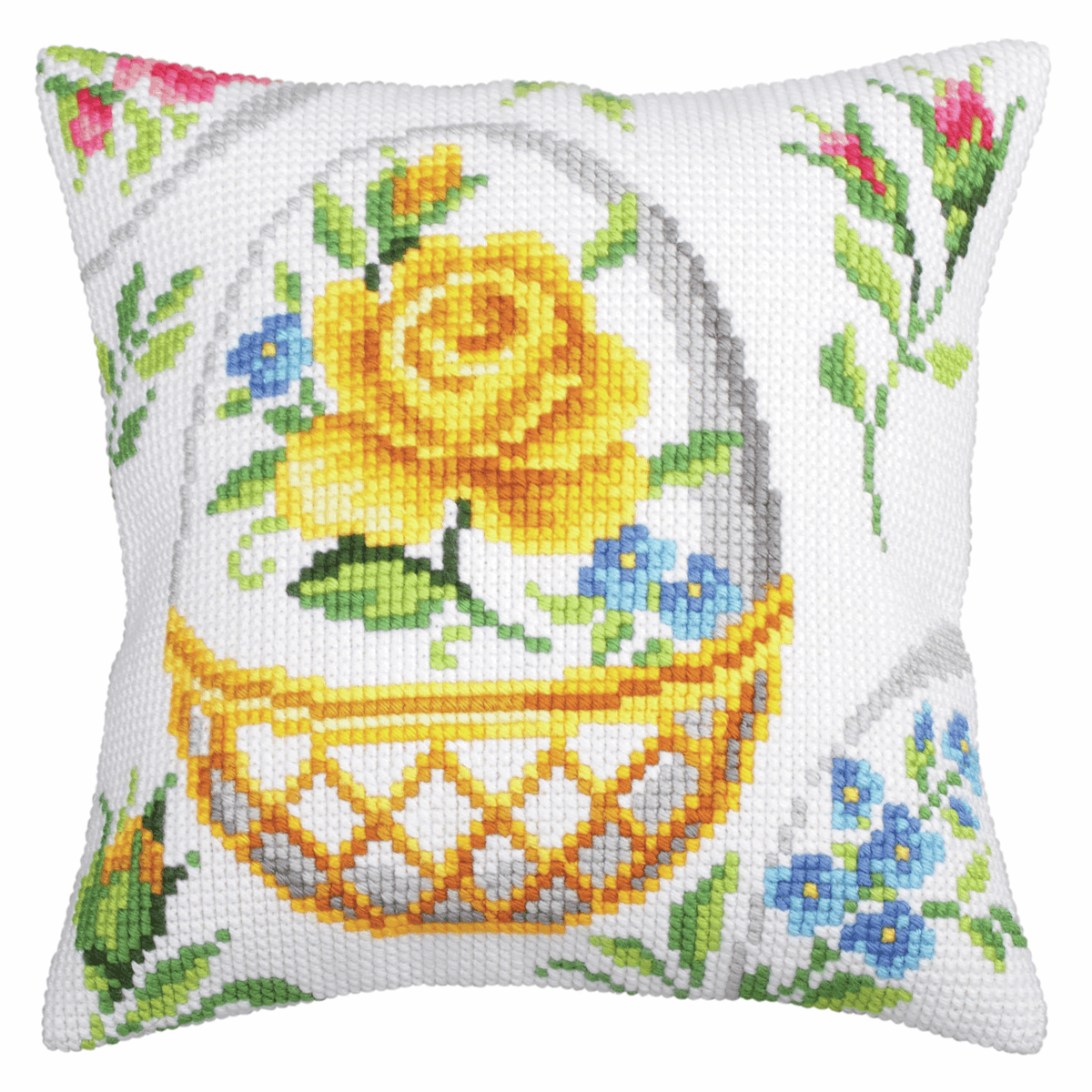 Picture of Cross Stitch Kit: Cushion: Easter Feast