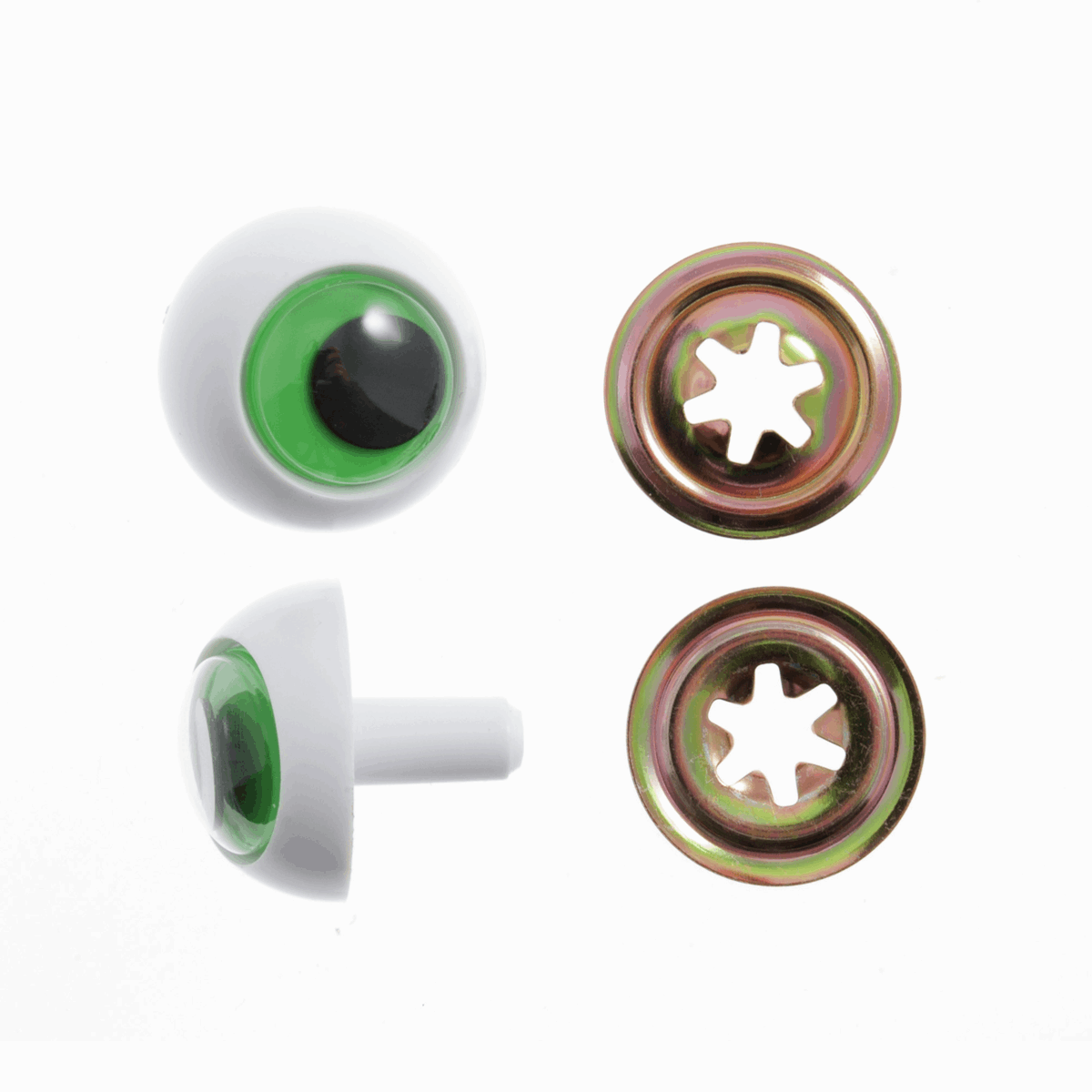 Picture of Toy Eyes: Frogs: 16mm: Green