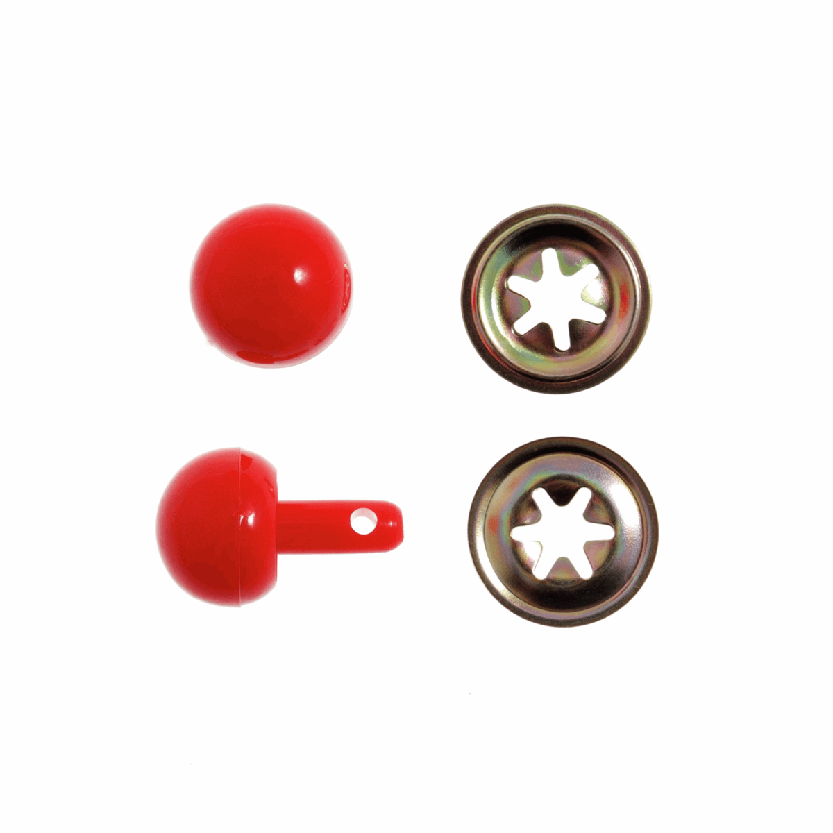 Picture of Toy Noses: Ball: 15mm: Red