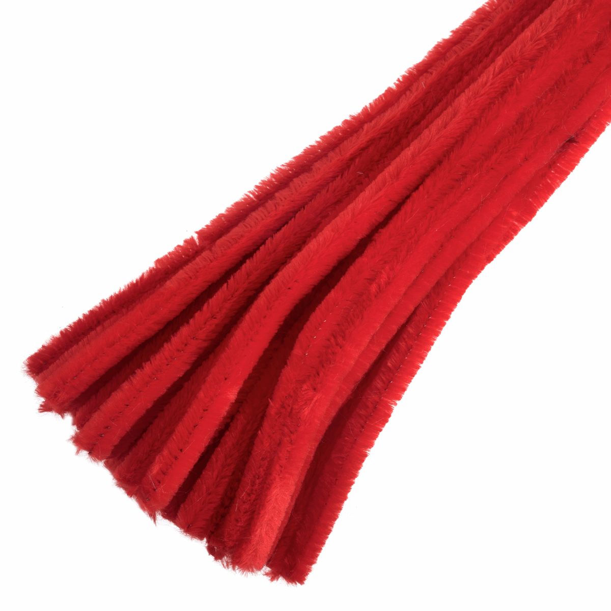 Picture of Chenilles: 30cm x 12mm: Red: 15 Pieces