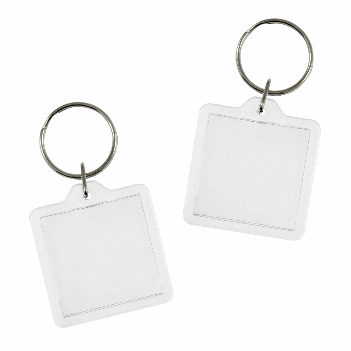 Picture of Key Rings: 4cm x 4cm: 2 pack