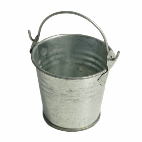 Picture of Pail: Galvanised Metal with Handle: 2 inch