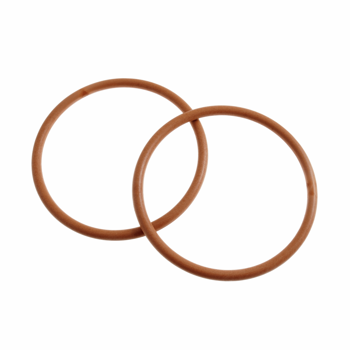 Picture of Bag Handles: Round: 13cm: Light Wood