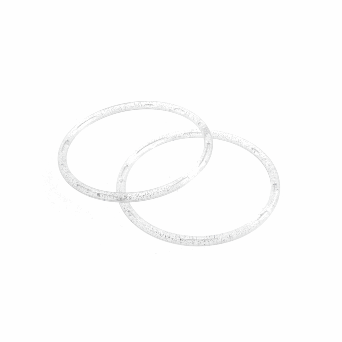 Picture of Bag Handles: Round: 13cm: Silver
