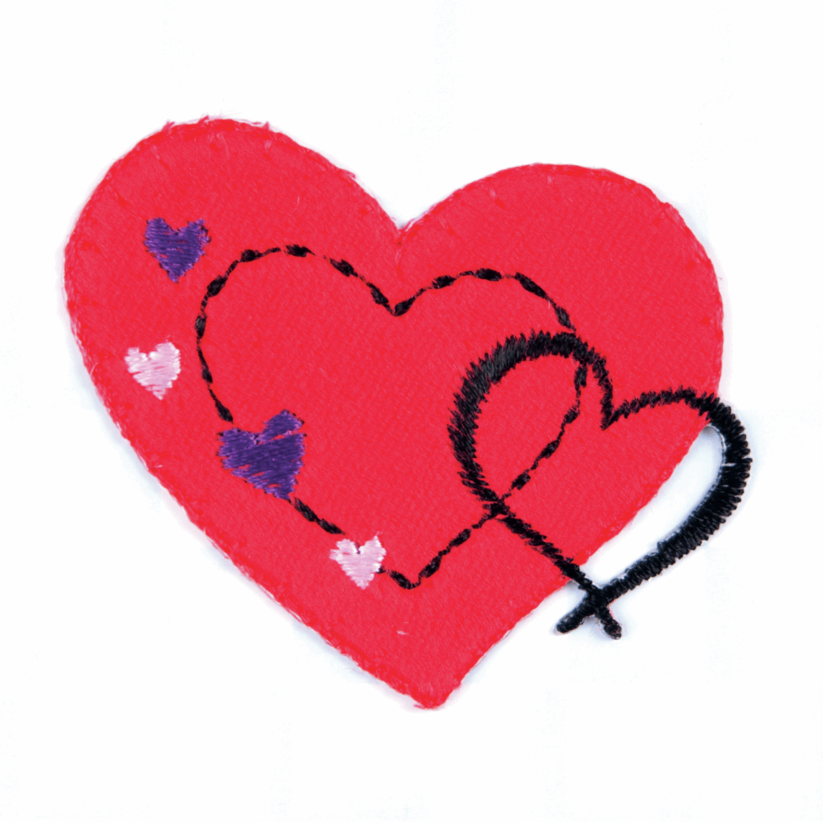 Picture of Motif A: Red Stitched Heart