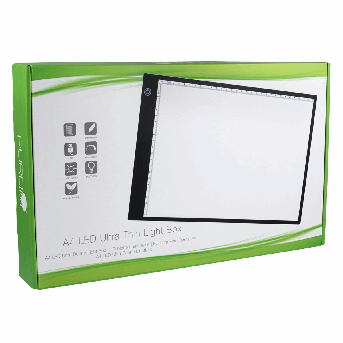 Picture of LED Light Box: Ultra-Thin: A4: European
