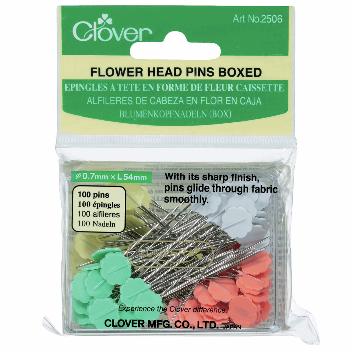 Picture of Pins: Flower Head: Box (3)