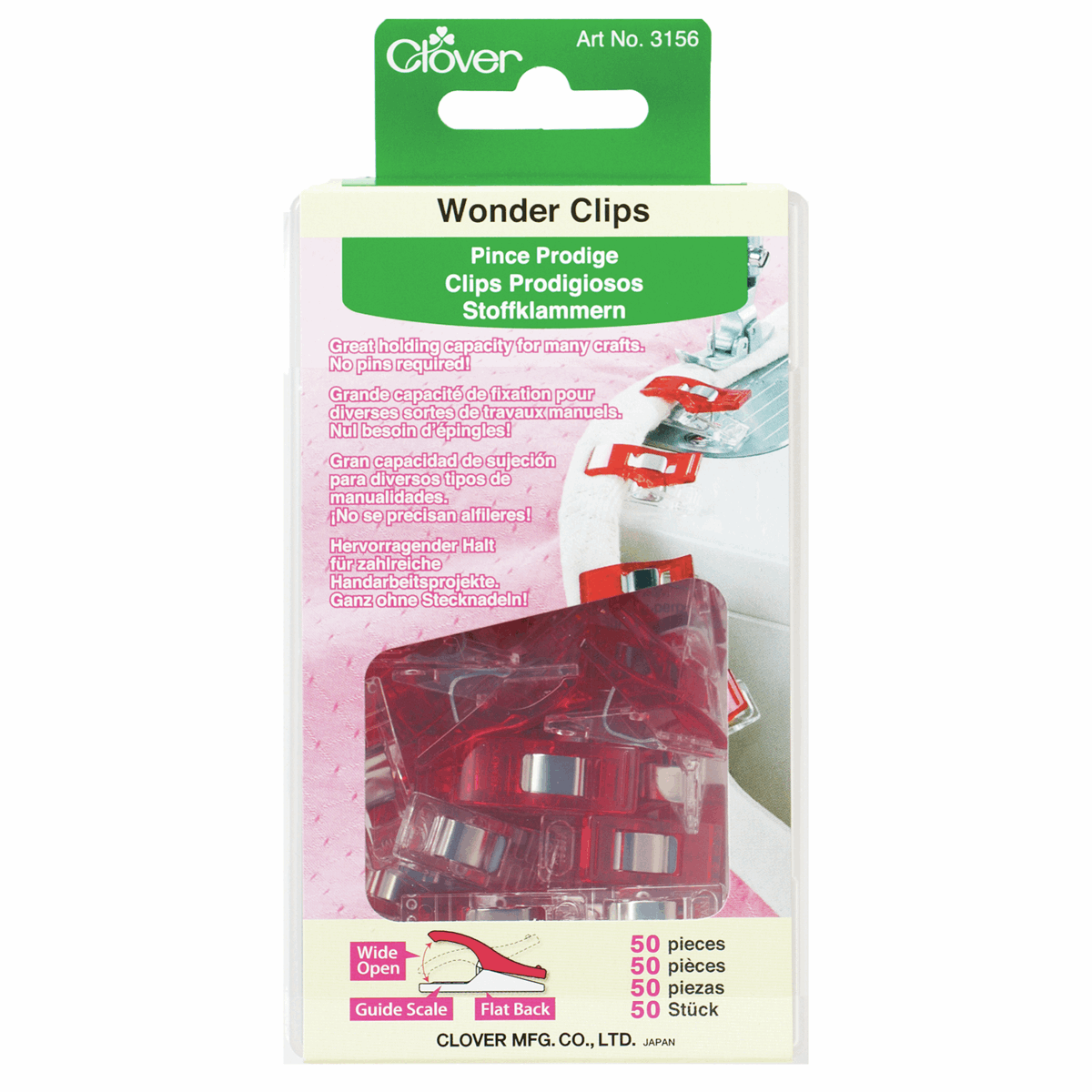 Picture of Wonder Clips: 50 Pieces (3)