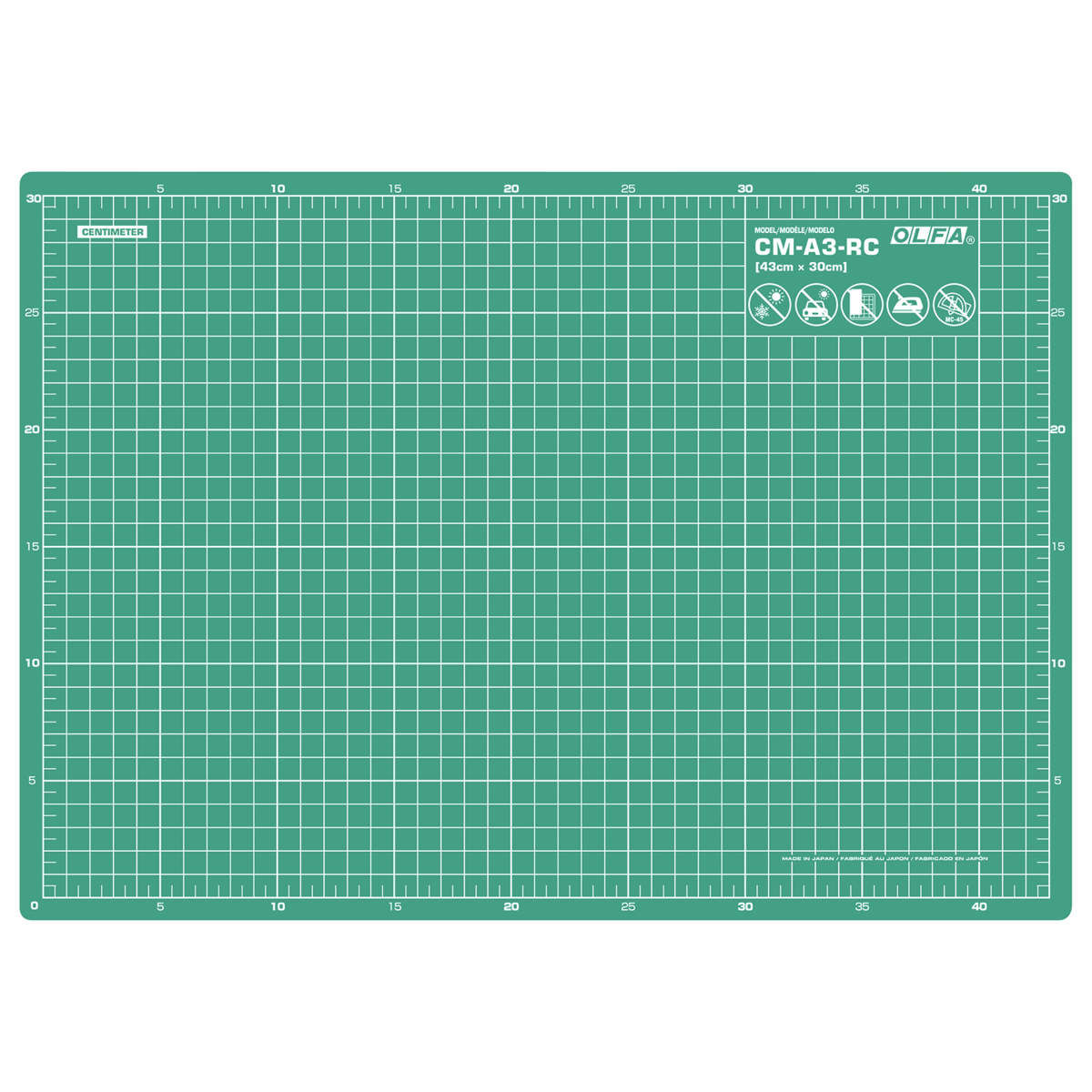 Picture of Craft Mat: 42.5x30cm / 17x12in