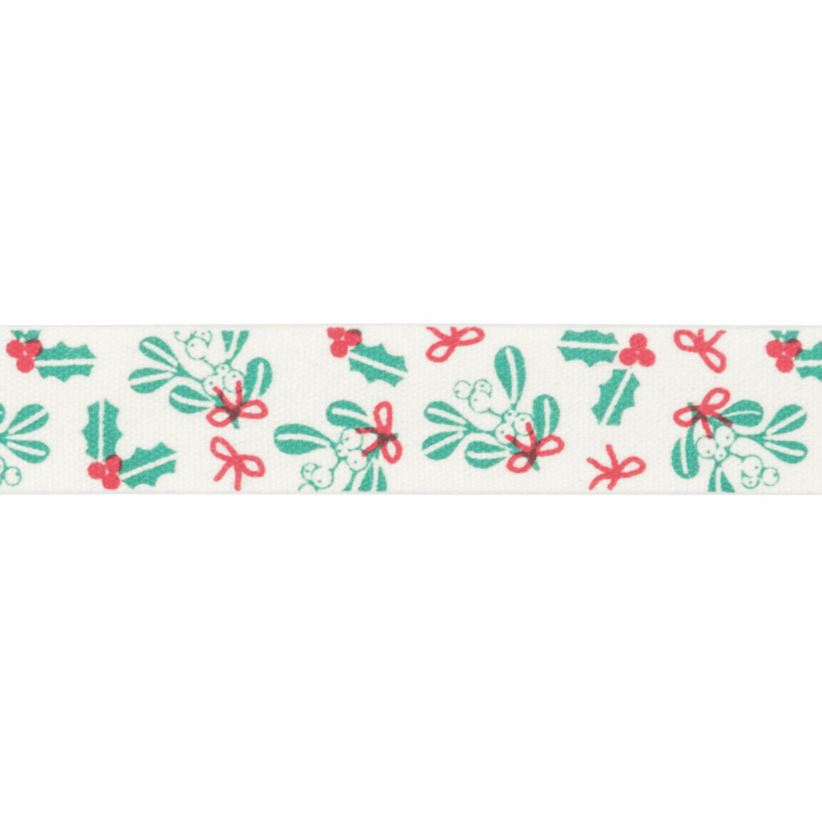 Picture of Bowtique Christmas: Holly and Mistletoe: 25m x 15mm