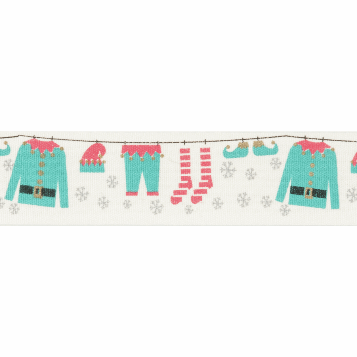 Picture of Bowtique Christmas: Elves Washing Line: 25m x 25mm