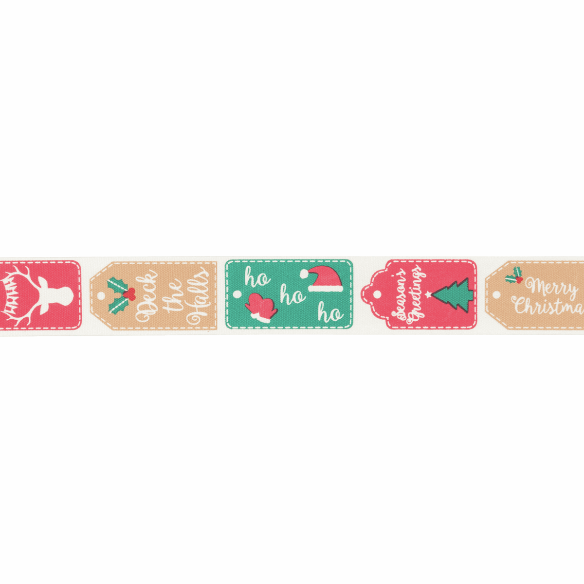Picture of Bowtique Christmas: Christmas Tags: 25m x 25mm