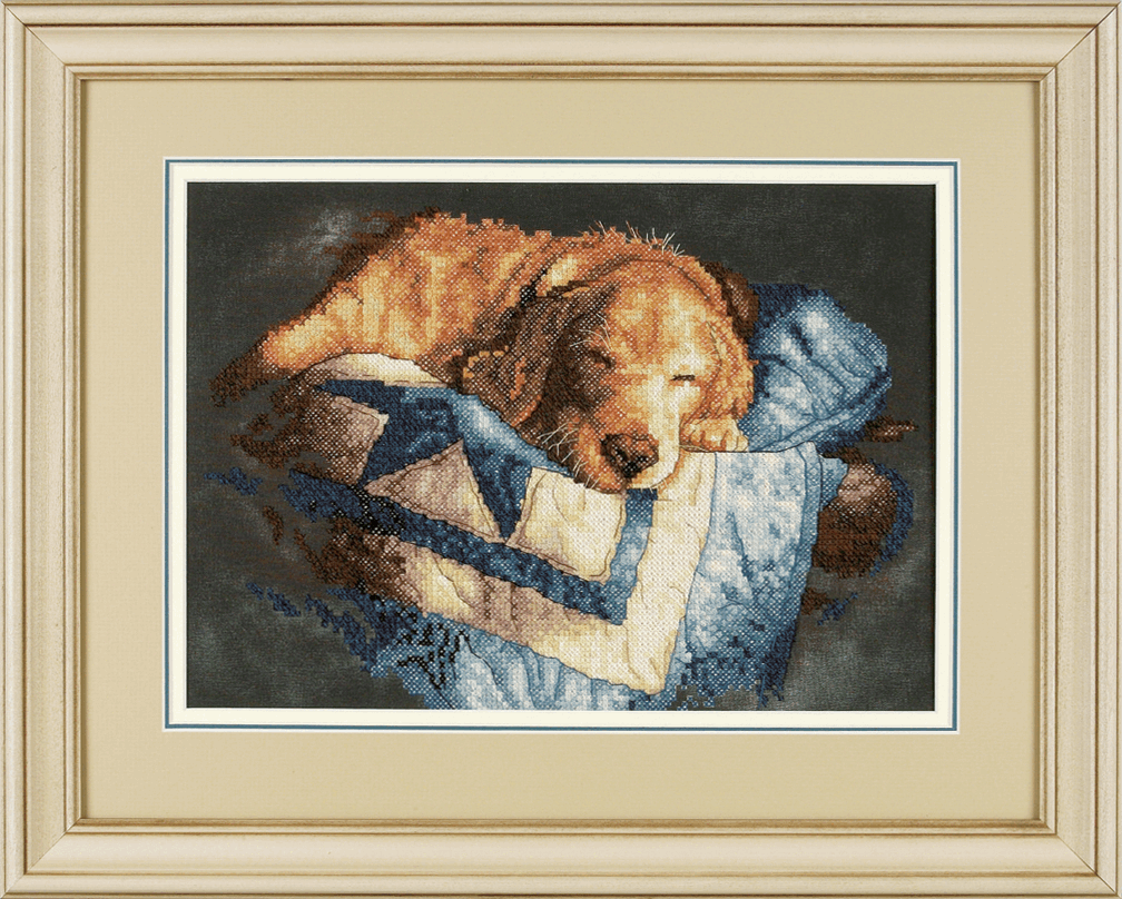 Picture of Stamped Cross Stitch: Snooze