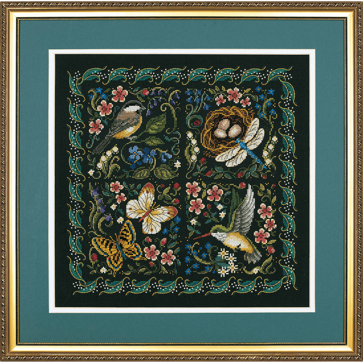 Picture of Gold: Counted Cross Stitch: The Finery of Nature