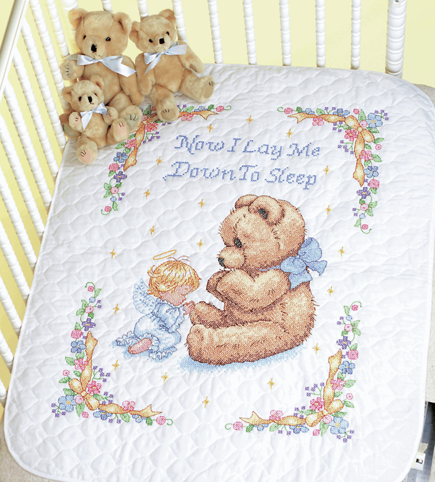Picture of Stamped Cross Stitch: Quilt: Sweet Prayer