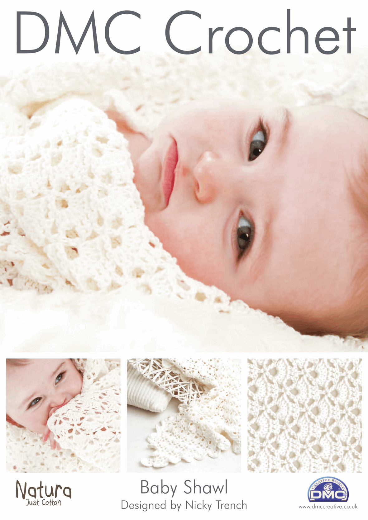 Picture of DMC Crochet Pattern: Baby Shawl