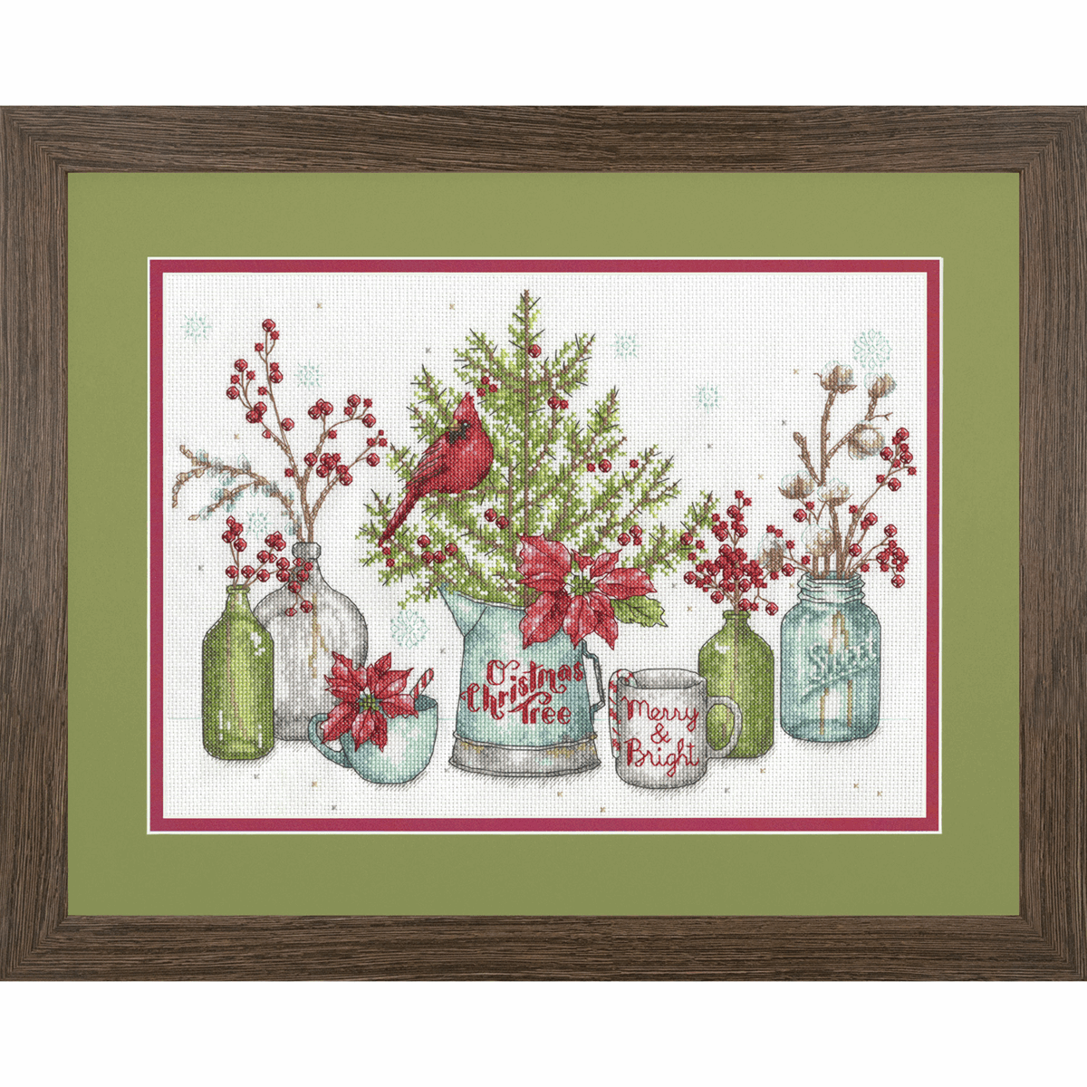 Picture of Counted Cross Stitch: Birds and Berries