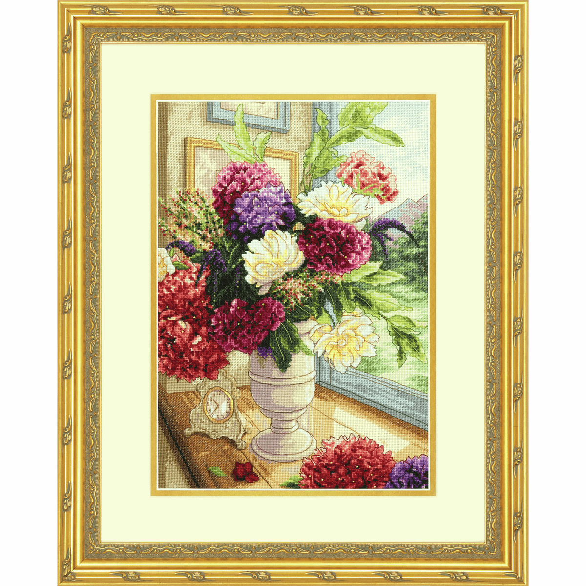 Picture of Gold: Counted Cross Stitch: Summer Bouquet