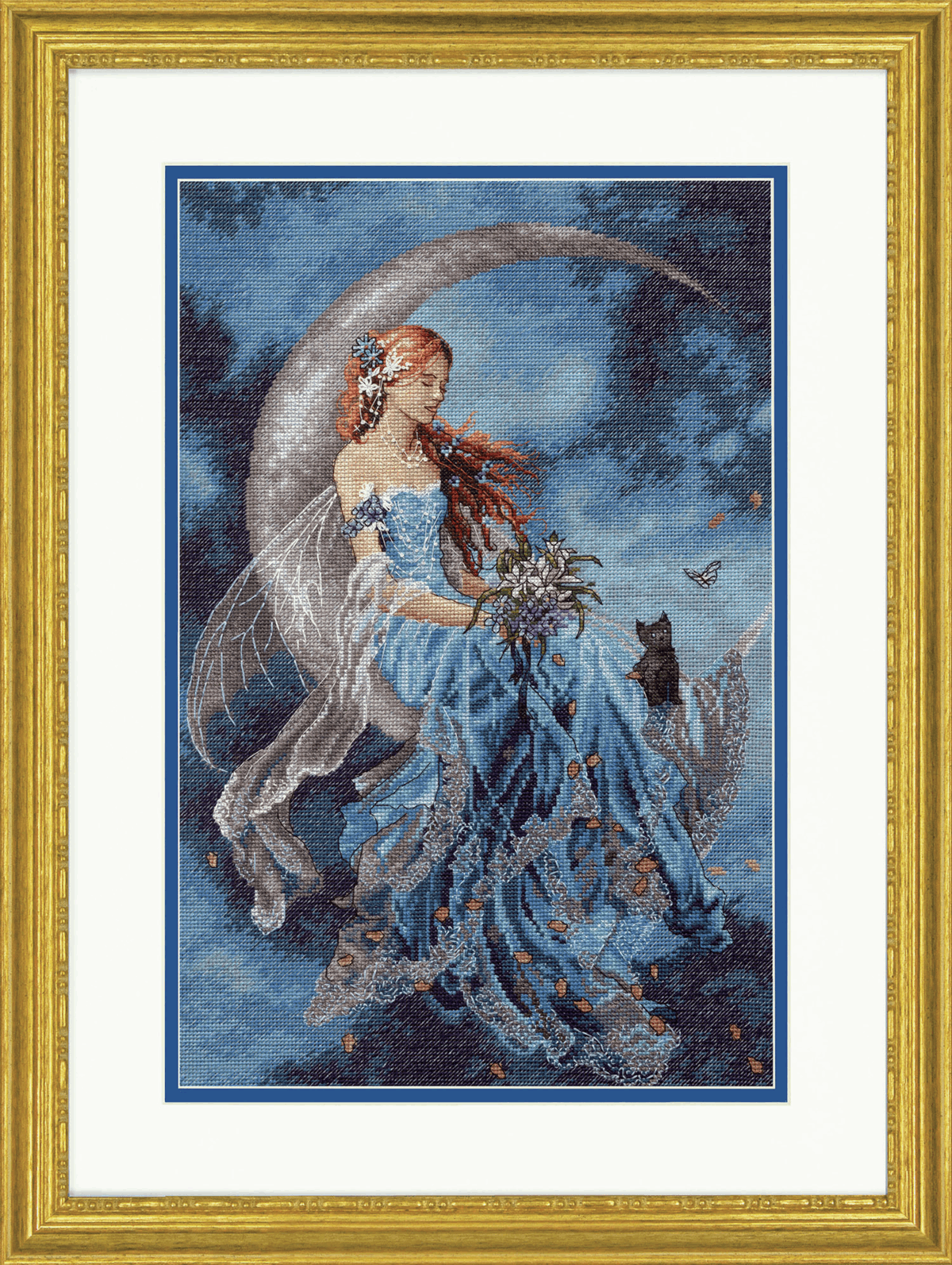 Picture of Counted Cross Stitch Kit: Wind Moon Fairy
