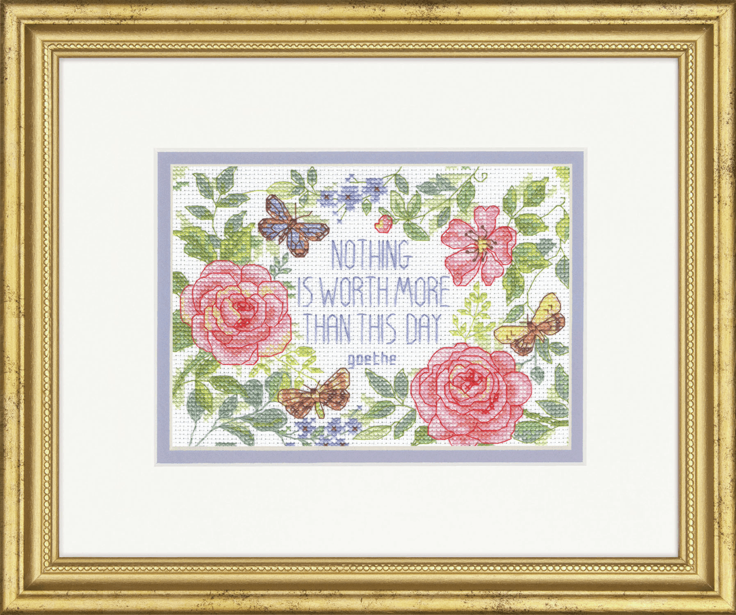 Picture of Counted Cross Stitch Kit: This Day Verse