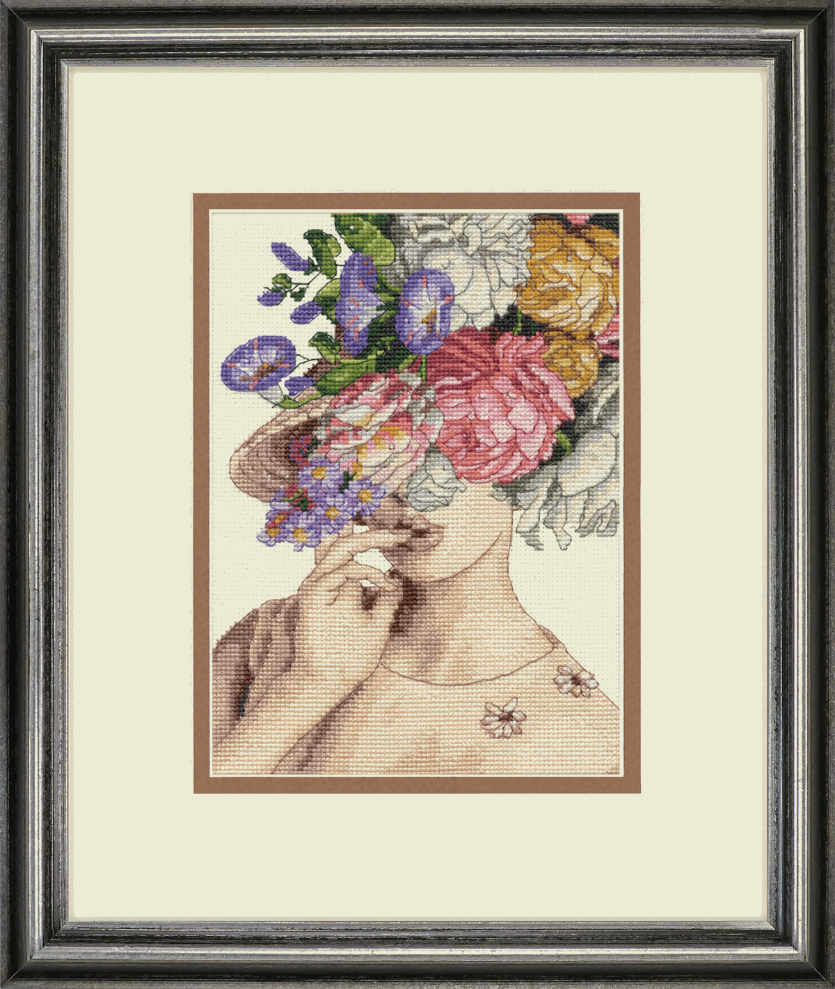 Picture of Counted Cross Stitch Kit: Garden Lady
