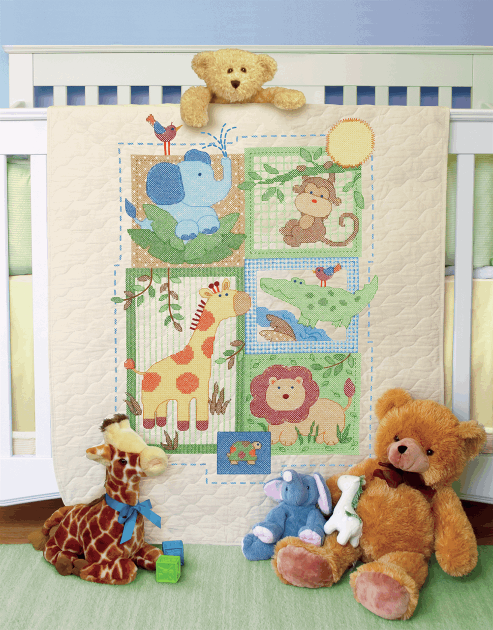 Picture of Stamped Cross Stitch: Quilt: Savanah
