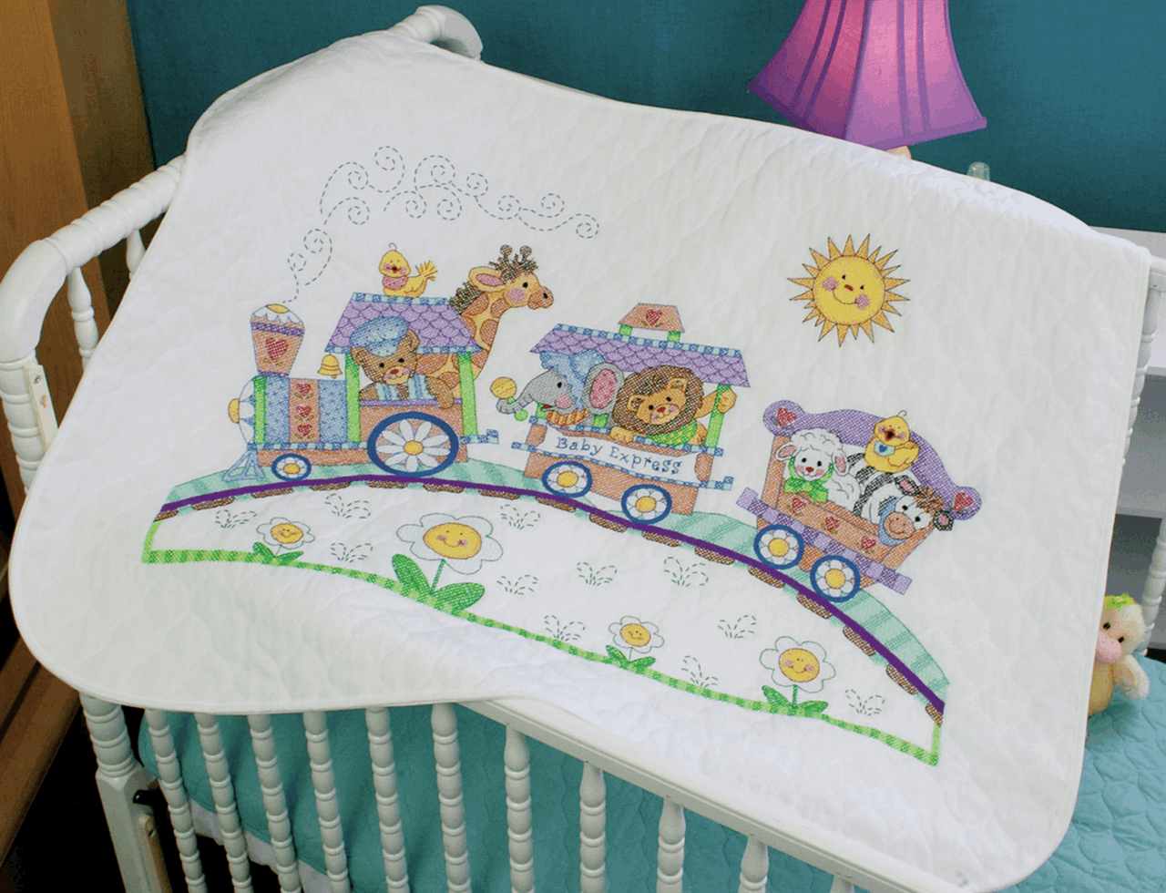 Picture of Stamped Cross Stitch: Quilt: Baby Express