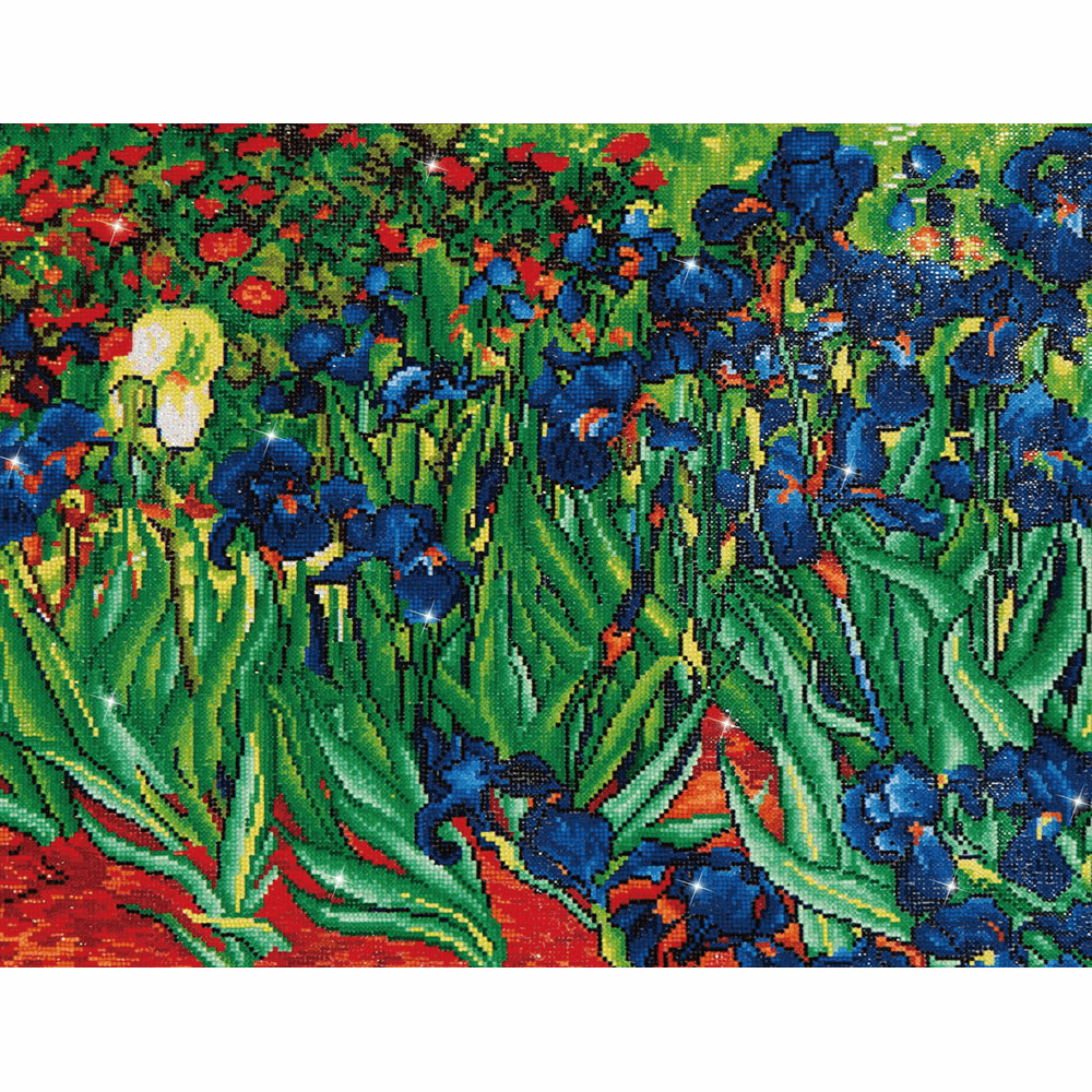 Picture of Diamond Painting Kit: Irises (Van Gogh)