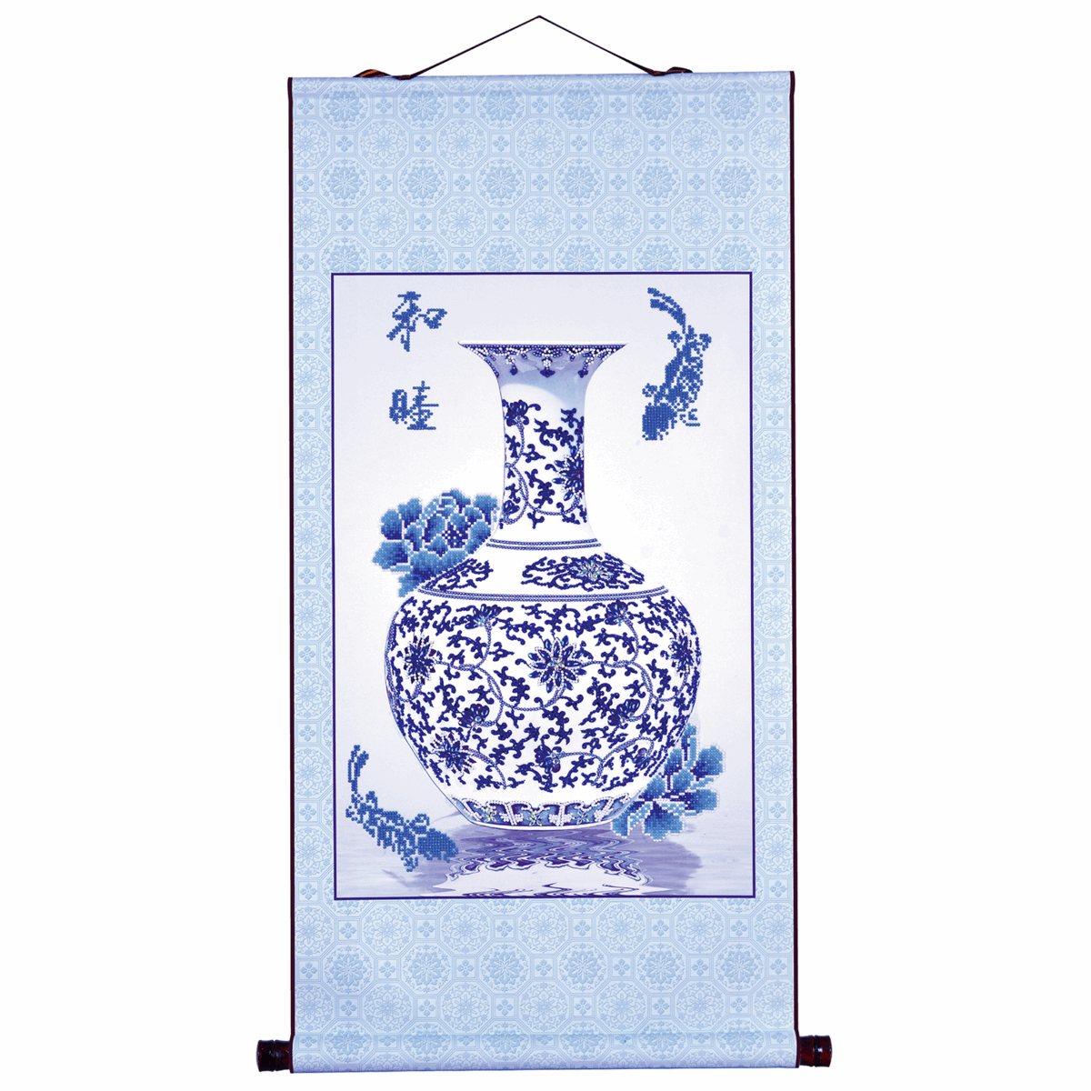 Picture of Diamond Painting Kit: Oriental Blessing Peace