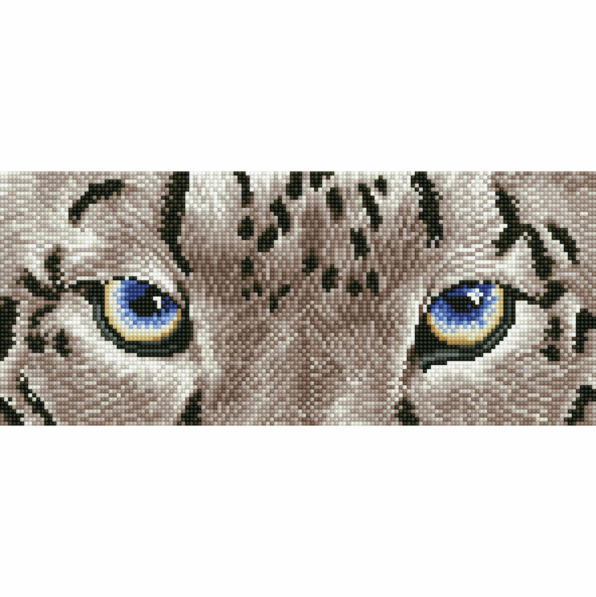 Picture of Diamond Painting Kit: Snow Leopard Spy